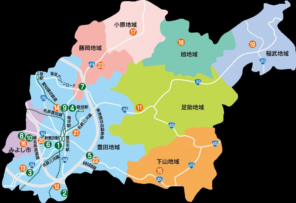 豊田MAP