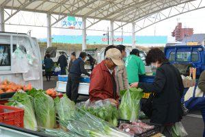 1104こだわりの野菜を直売 3会場でJA軽トラ市(1)